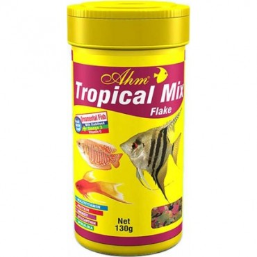 AHM Tropical Mix Flake Pul Yem 1000ml