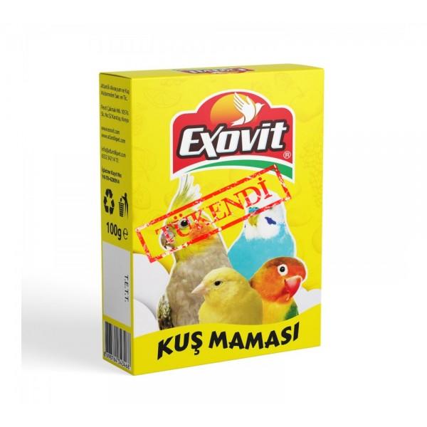 EXOVİT KUŞ MAMASI 100 GR