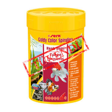 Sera Goldy Color Spirulina – Orjinal Kutu