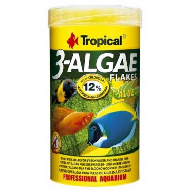 Tropical 3-Algae Flakes 100gr