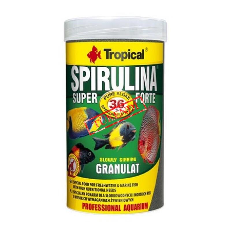 Tropical Super Spirulina Forte Granulat 100gr