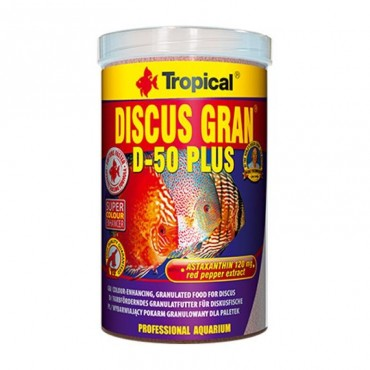 Tropical Discus Gran D-50 Plus 100gr