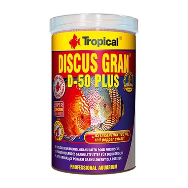 Tropical Discus Gran D-50 Plus 100gr