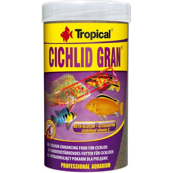 Tropical Cichlid Gran 100gr