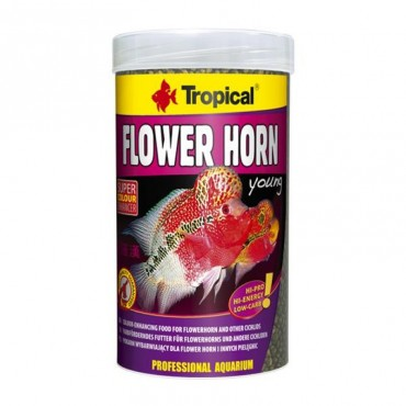 Tropical Flowers Horn Young Pellet - Orjinal Kutu 250ml