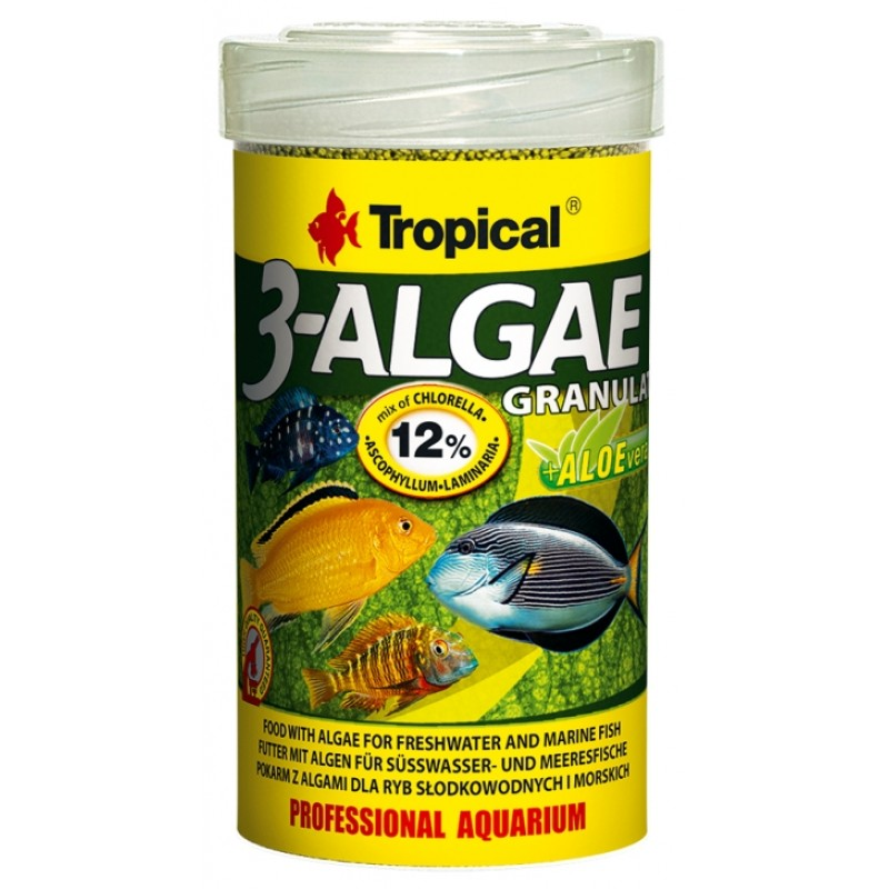 Tropical 3-Algae Granulat 100gr