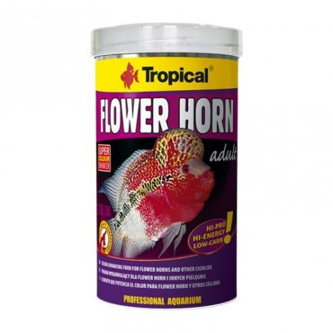 Tropical Flowers Horn Adult Pellet - 100gr