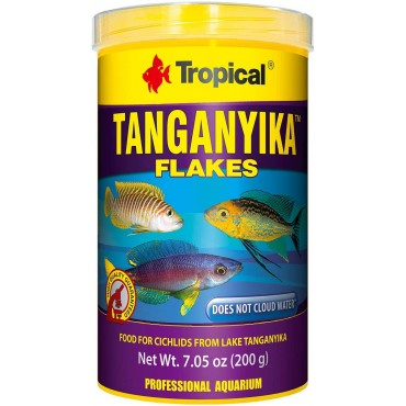 Tropical Tanganyika Flake Orjinal Kutu 1000ml