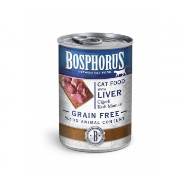 BOSPHORUS CAT FOOD WITH LIVER / CİĞERLİ KEDİ MAMASI