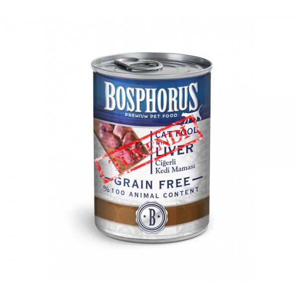 BOSPHORUS CAT FOOD WITH LIVER / CİĞERLİ KEDİ MAMASI