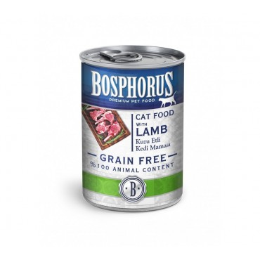 BOSPHORUS CAT FOOD WITH LAMB / KUZU ETLİ KEDİ MAMASI
