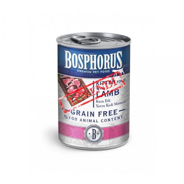 BOSPHORUS KITTEN FOOD WITH LAMB / KUZU ETLİ YAVRU KEDİ MAMASI