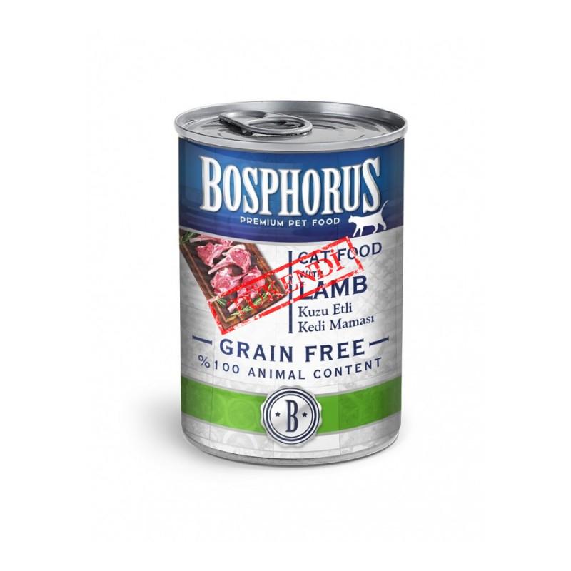 BOSPHORUS CAT FOOD WITH LAMB / KUZU ETLİ KEDİ MAMASI
