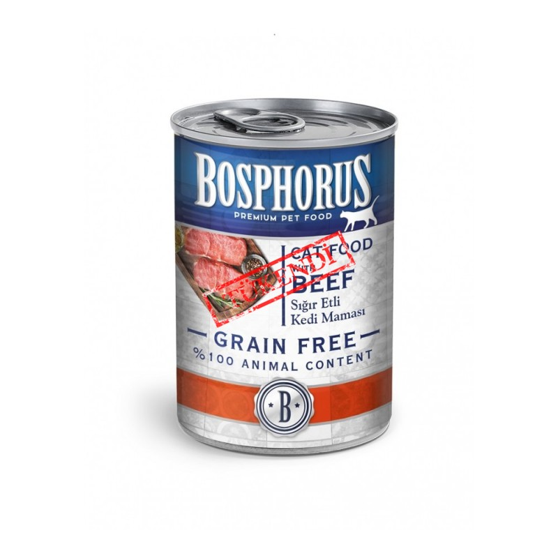BOSPHORUS CAT FOOD WITH BEEF / SIĞIR ETLİ KEDİ MAMASI