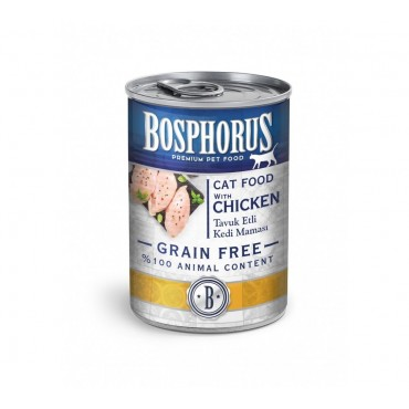 BOSPHORUS CAT FOOD WITH CHICKEN / TAVUK ETLİ KEDİ MAMAS