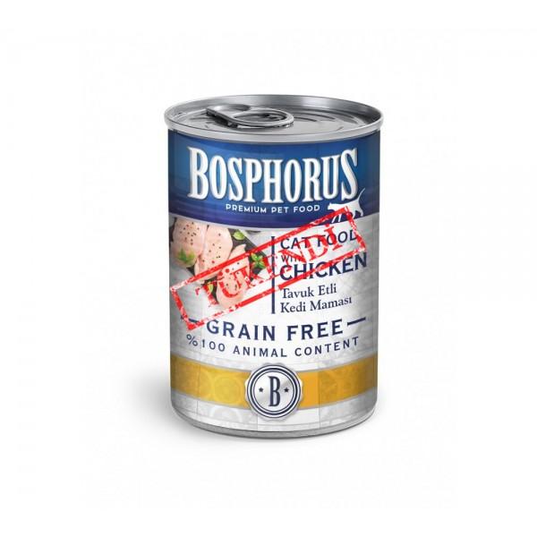 BOSPHORUS CAT FOOD WITH CHICKEN / TAVUK ETLİ KEDİ MAMAS