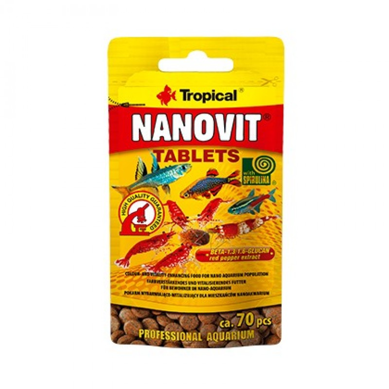 Tropical Nanovit Tablet 70 Adet