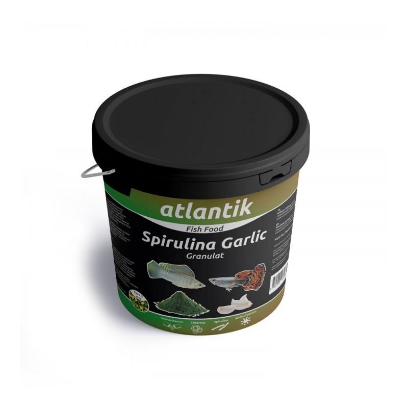 Sprulina Garlic Granulat - 100gr