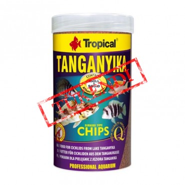 Tropical Tanganyika Chips 100gr
