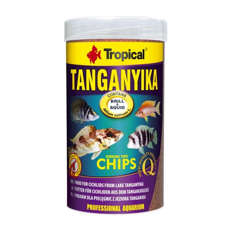 Tropical Tanganyika Chips 100gr